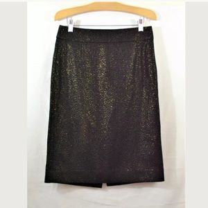 J.Crew Wool Blend Pencil Skirt Size 4